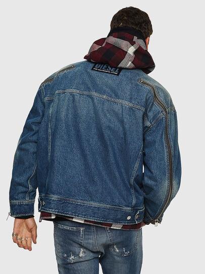 Diesel - D-LORY, Medium blue - Denim Jackets - Image 2