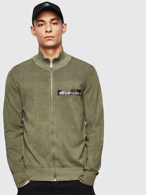 K-FRECCY, Military Green - Knitwear