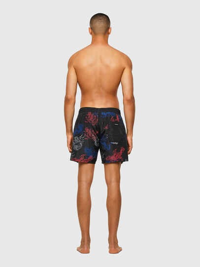 Diesel - BMBX-WAVE 2.017, Black - Swim shorts - Image 2