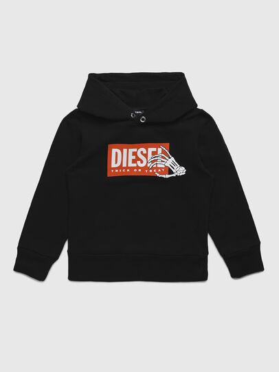 Diesel - SKELE-TSE, Black - Sweaters - Image 1
