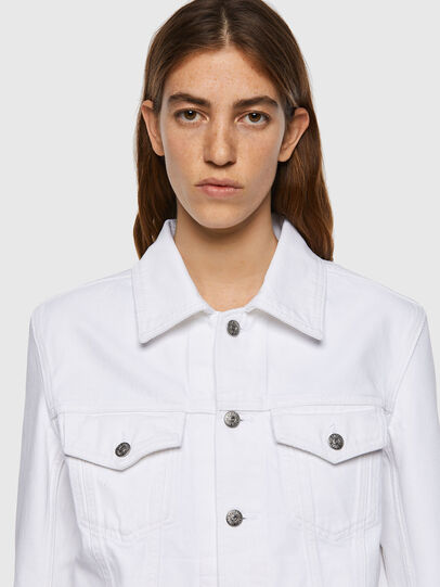 Diesel - NHILL-C1, White - Denim Jackets - Image 6