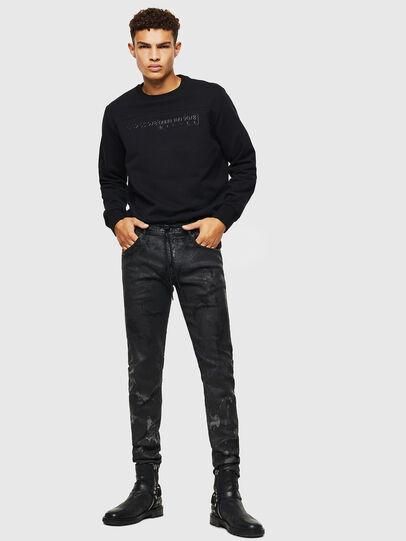 Diesel - Thommer JoggJeans 084AI, Black/Dark grey - Jeans - Image 6