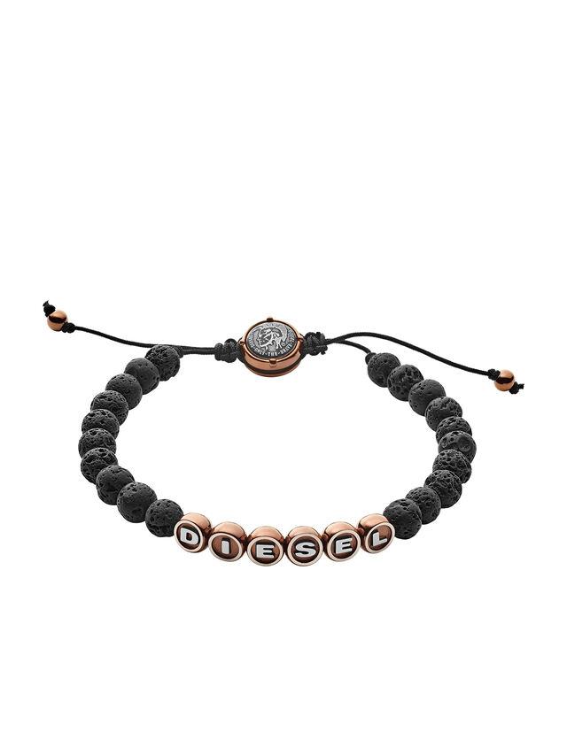 Diesel BRACELET DX1094, Black - Bracelets - Image 1