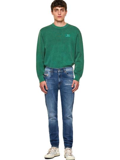 Diesel - D-Istort 009PU, Medium blue - Jeans - Image 5