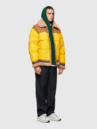 Diesel - W-EVAN-A, Yellow - Winter Jackets - Image 5