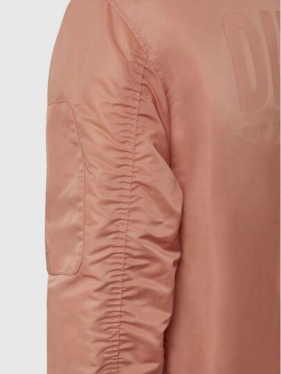 Diesel - J-ROSS-REV, Pink - Jackets - Image 8