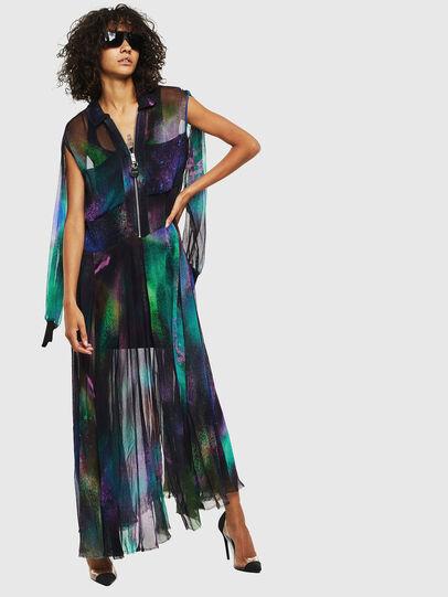 Diesel - D-RAH-A, Multicolor - Dresses - Image 4
