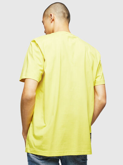 Diesel - T-JUST-B23, Yellow - T-Shirts - Image 2