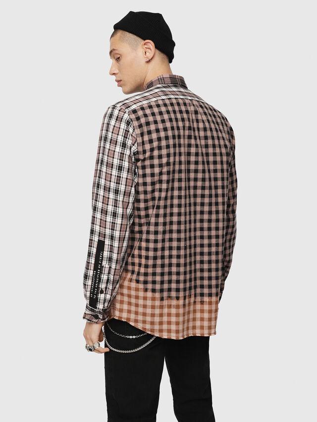 Diesel - S-MADOKA, Black/Pink - Shirts - Image 2