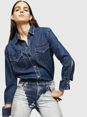 DE-COLLY, Medium blue - Denim Shirts
