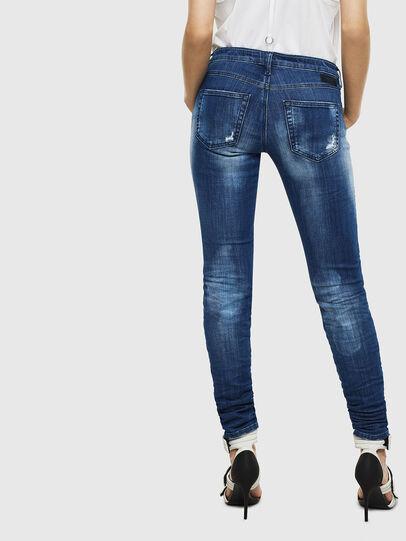 Diesel - Gracey JoggJeans 0099S, Dark Blue - Jeans - Image 2