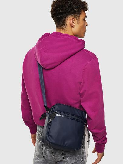 Diesel - DOUBLECROSS, Blue - Crossbody Bags - Image 7