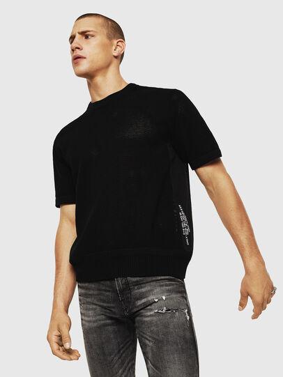 Diesel - K-LORE, Black - Knitwear - Image 4