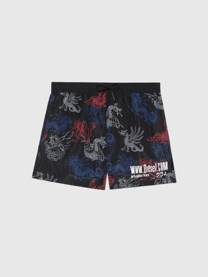 Diesel - BMBX-WAVE 2.017, Black - Swim shorts - Image 4