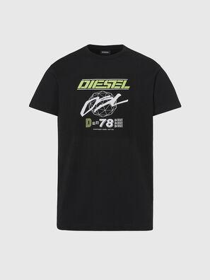 T-DIEGOS-K34, Black - T-Shirts