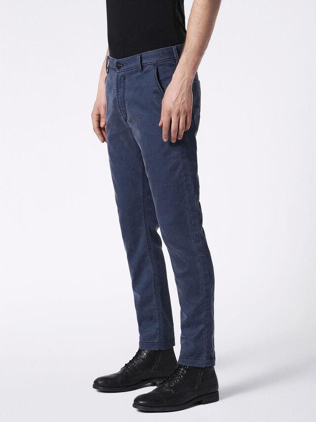 Diesel - SLIM-CHINO-M JOGGJEANS 0685E, Blue - Jeans - Image 4