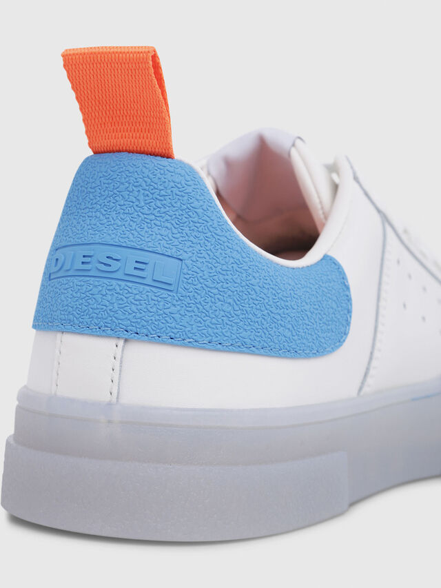 Diesel - S-CLEVER LOW, White/Blue - Sneakers - Image 5