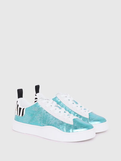 Diesel - S-CLEVER LOW LACE W, Azure - Sneakers - Image 2