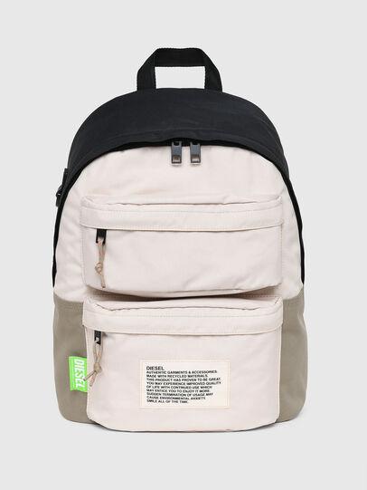 Diesel - RODYO FP, White/Orange - Backpacks - Image 1
