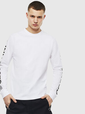 T-JUST-LS-T14, White - T-Shirts
