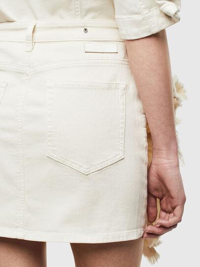 Diesel - D-FRU JOGGJEANS, Cream - Skirts - Image 5