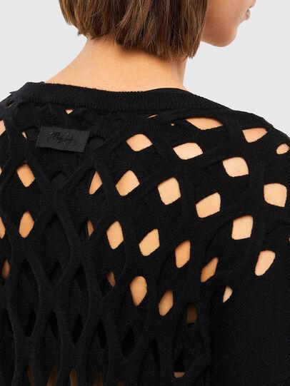 Diesel - M-RADHA, Black - Knitwear - Image 4