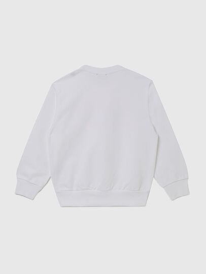 Diesel - SGIRKK10 OVER, White - Sweaters - Image 2