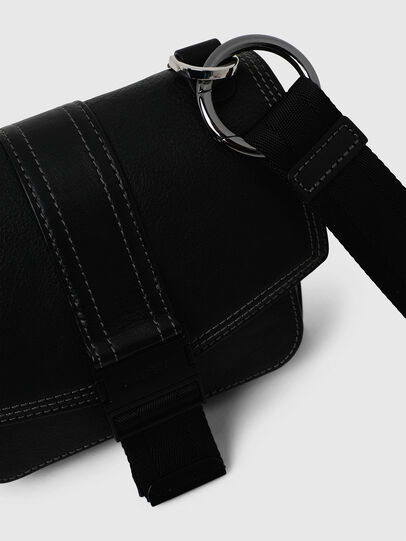 Diesel - MISS-MATCH CROSSBODY, Opaque Black - Crossbody Bags - Image 4