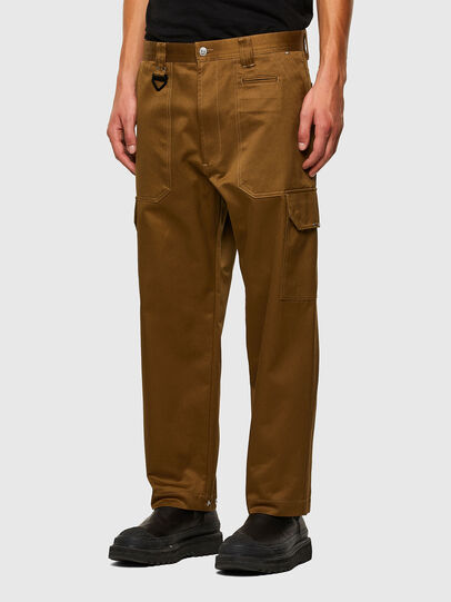 Diesel - P-BAKER, Brown - Pants - Image 7