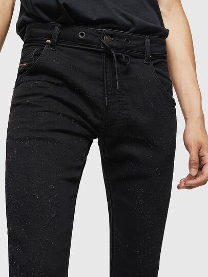 Diesel - Krooley JoggJeans 0092N, Black/Dark grey - Jeans - Image 3