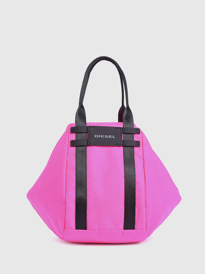 Diesel - CAGE SHOPPER XS, Pink Fluo - Bags - Image 1