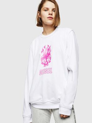 F-LYANY-E, White - Sweaters