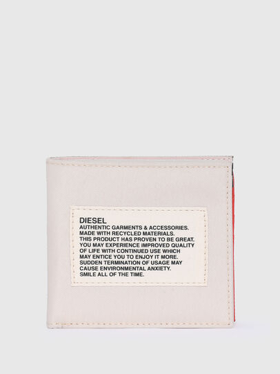 Diesel - HIRESH S SP, White/Orange - Small Wallets - Image 1
