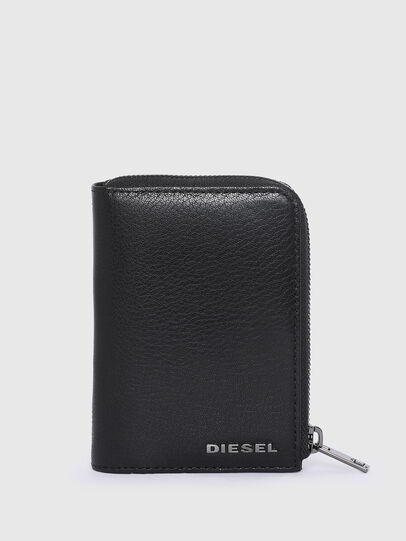 Diesel - L-12 ZIP, Blue/Black - Small Wallets - Image 1