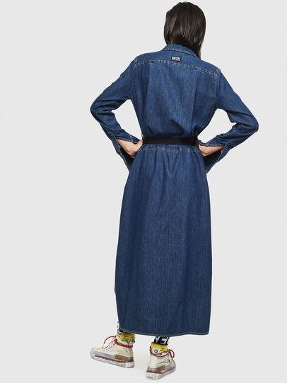 Diesel - DE-TOKYO, Medium blue - Dresses - Image 2