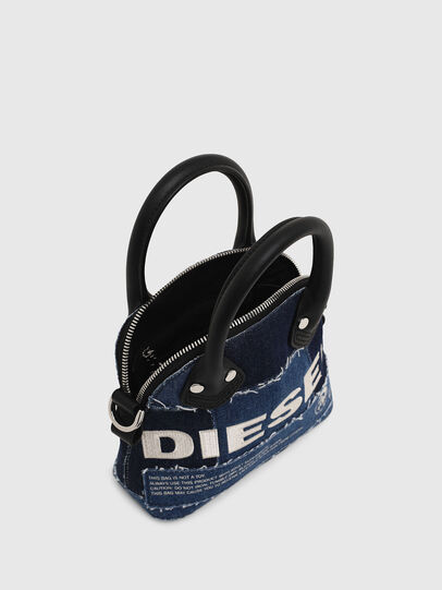 Diesel - PYANIGA S, Blue - Crossbody Bags - Image 4