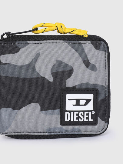 Diesel - ZIPPY HIRESH S II, Grey/Black - Zip-Round Wallets - Image 4