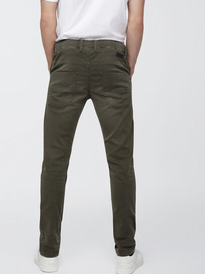 Diesel - Krooley JoggJeans 0670M, Military Green - Jeans - Image 2