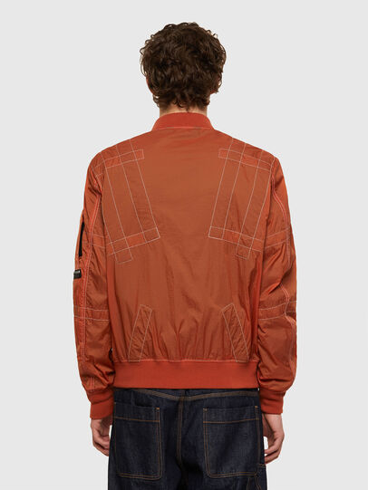 Diesel - J-OLIVE, Orange - Jackets - Image 2