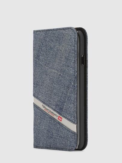 Diesel - DENIM IPHONE X FOLIO,  - Flip covers - Image 4