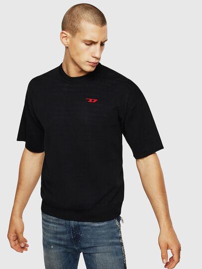 Diesel - K-TOMM, Black - Knitwear - Image 1
