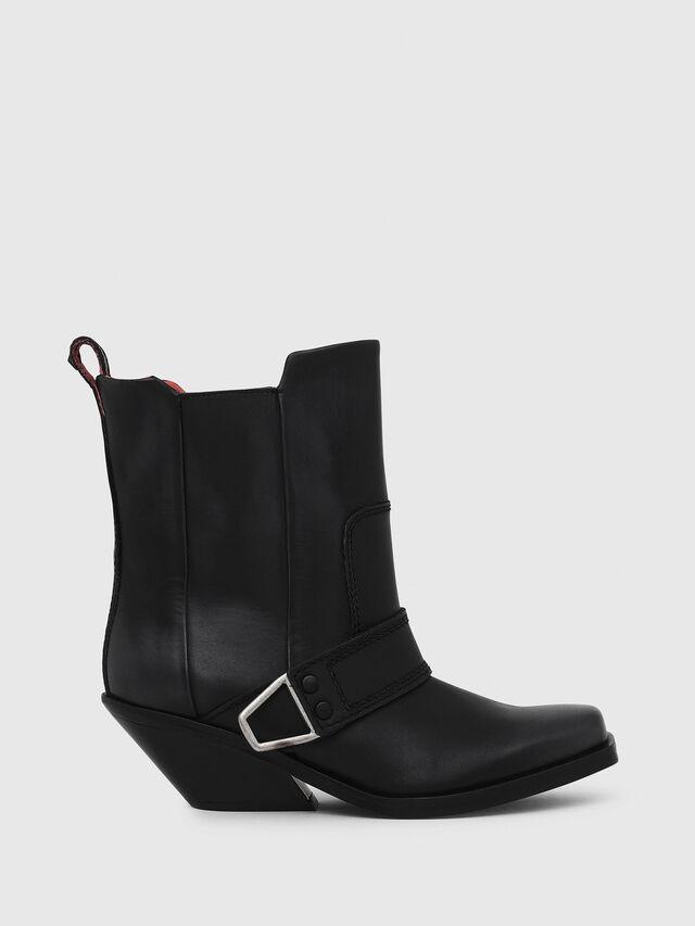 Diesel - D-GIUDECCA MA, Black - Ankle Boots - Image 1