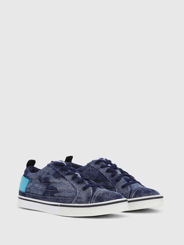Diesel - D-VELOWS LOW PATCH, Blue Jeans - Sneakers - Image 2
