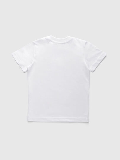 Diesel - TJUSTDIVISIONB-R, White - T-shirts and Tops - Image 2