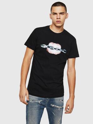 T-DIEGO-B10, Black - T-Shirts