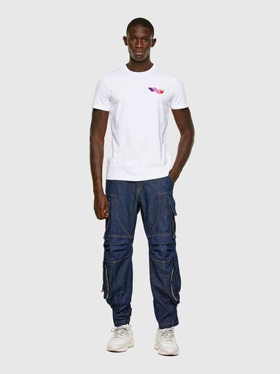 Diesel - T-DIEGOS-K11, White - T-Shirts - Image 5