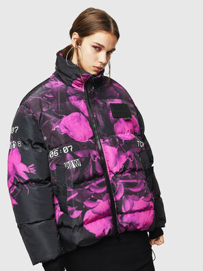 W-PIATIGGY, Black/Pink - Winter Jackets
