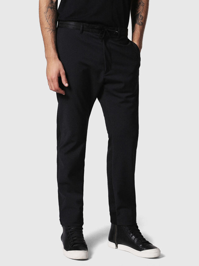 Diesel - P-HONNYER, Black - Pants - Image 3