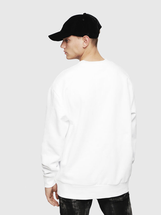 Diesel - S-BAY-YE, White - Sweaters - Image 2