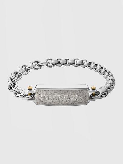 Diesel - DX1193, Silver - Bracelets - Image 1
